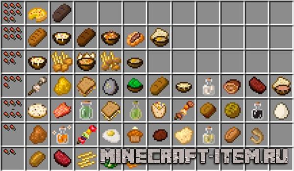 minecraft food chart - 600×350