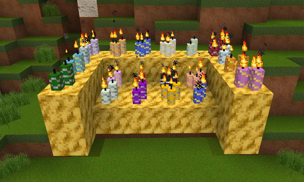 Ароматические свечки