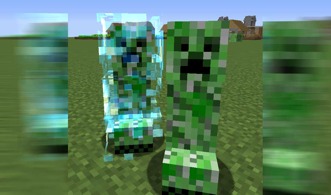 Naturally Charged Creepers